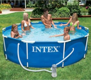 Intex 305x76 cm Metal Frame Zwembad