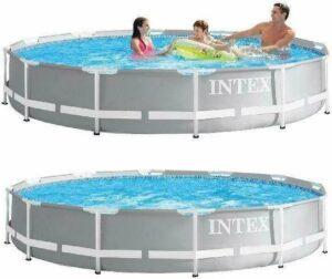 Intex Prism Frame Pool - 366 x 76 cm - met filterpomp