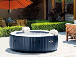 Intex PureSpa Navy Bubbel Opblaasbare 4-persoons - Opblaasbare spa