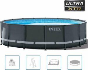 Intex Ultra XTR Frame zwembad Ø 488 x 122 cm - met zandfilterpomp en accessoires