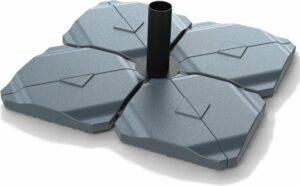 Kopu vulbare parasolvoet voor zweefparasol 20 kg - Antraciet