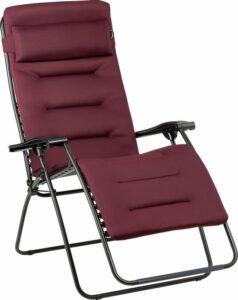 Lafuma Rsx Clip Xl Aircomfort - relaxstoelen - inklapbaar - Donkerrood
