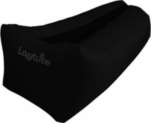 Laytube - Happy People Ligzak Lounger To Go - 2.0 - 100 kg - Zwart