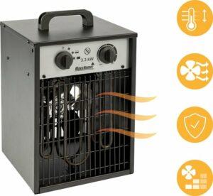 MaxxHome Ventilator kachel - Electrische verwarming Heater - 3300 Watt - 135m²