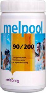 Melpool 90-200 Chloortabletten 1 kg Stabiel