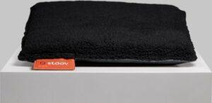 One - Woolly verwarmd zitkussen Woolly Black