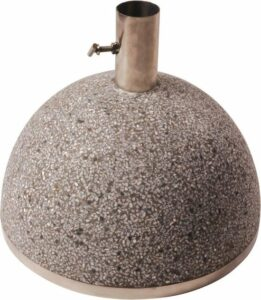 Parasolvoet granito grijs