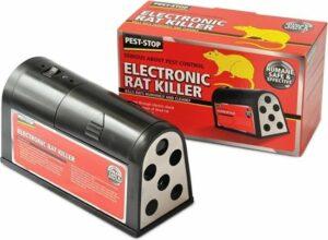 Pest-Stop - Elektrische rattenval - Tegen ratten en muizen - Werkt op batterijen