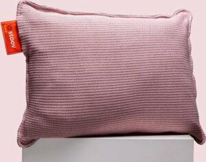 Ploov 45x60 - Knitted Warmtekussen Oud Roze