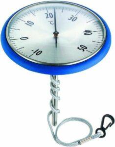 Summer fun thermometer boei RVS voor zwembaden