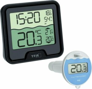 TFA Marbella Draadloze Zwembad Thermometer
