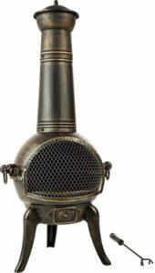 TecTake Tuinhaard - 115 cm - 402197