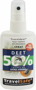 Travelsafe DEET 50% - Spray 60ml