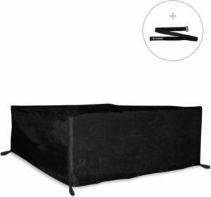 VONROC Premium loungeset hoes M – 240x180x75cm – Beschermhoes voor loungeset – Incl. klittenband binder
