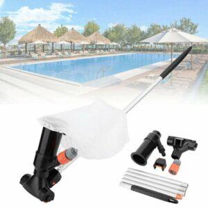 Zwembad Stofzuiger - Zwembad & Jacuzzi Onderhoud - Universeel - Filterpomp - Zwembadstofzuiger- Zwembad Pomp - Intex Filter - Inclusief Telescoopstang