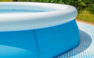 intex zwembad leeg laten lopen