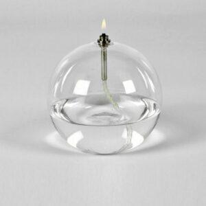 olielamp binnen - Bol - Peri - Ø 13 cm - Glas - Glasvezel