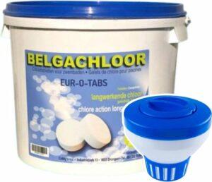 BC - Chloor tabletten zwembad - Chloordrijver - 5KG (25x200g) - Chloor tabletten