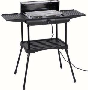 Excellent Electrics Elektrische Barbecue - Grilloppervlak (LxB) 36x24 cm - 2000W - Zwart