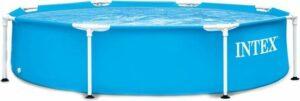 Intex 28205NP Metal Frame Zwembad 244x51 cm Blauw