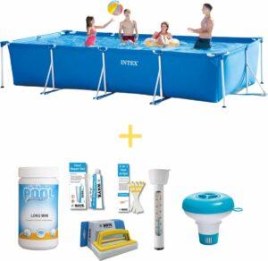 Intex Zwembad - Frame Pool - 450 x 220 x 84 - Inclusief WAYS Onderhoudspakket