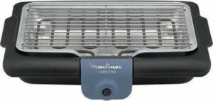 Moulinex BG134812 Barbecue Tafelblad Electrisch 2100W Zwart, Blauw, Zilver barbecue