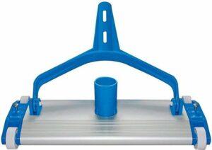 Zwembad bodemreiniger aluminium 35 cm breed 38mm clip bevestiging