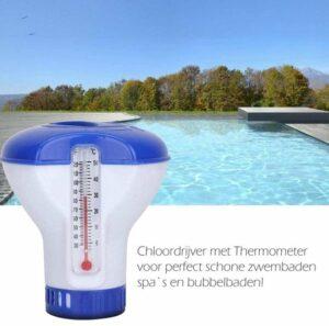 chloordrijver Dispenser - reiniging - Chloordrijver - Chloordrijver en Thermometer