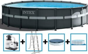 intex ultra frame pool 549