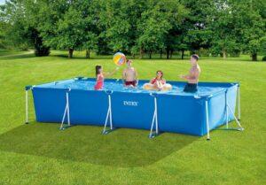 intex zwembad zonder pomp
