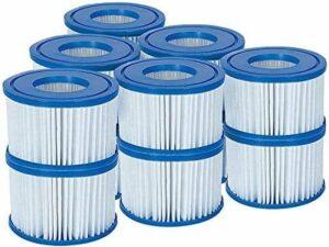 Bestway 58323 Lay-Z-Spa filterpatroon maat VI, 6 x Twin Pack
