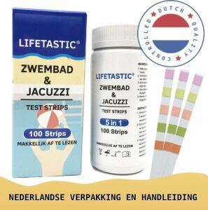 LIFETASTIC® 100 stuks - 5 in 1 Teststrips jacuzzi
