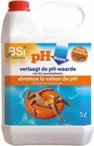 pH down liquid 5 L - verlaagt de pH-waarde in uw jacuzzi