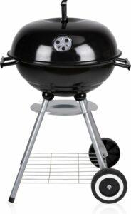 BBQ Collection Houtskool Barbecue - Grilloppervlak (LxB) 45 x 45 cm - Met Wielen - Zwart