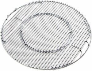 BBQ Systeem - Grillrooster van RVS voor 57 CM Kettle BBQ's (o.a. geschikt voor Weber)