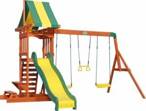 Backyard Discovery Sunnydale Speeltoren incl. schommels - Klimwand - Zandbak - Picknick