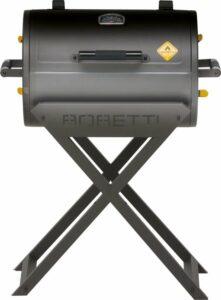 Boretti Fratello houtskoolbarbecue - Grilloppervlak 58x41 cm - Zwart