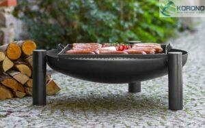 COOKKING BBQ Vuurschaal 70 cm & Robuuste Grill
