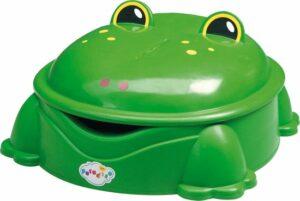 Freddy de Kikker - Zandbak met Deksel - Groen