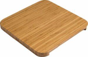Höfats Cube Vuurkorf Plank - Bamboe - 42x42x3 cm - Bruin