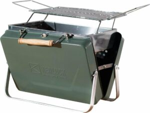 Kenluck - Buddy BBQ Grill - Compacte barbecue - Groen
