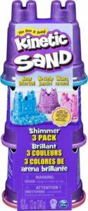 Kinetic Sand - Glitterzand 3 Pack 340 g