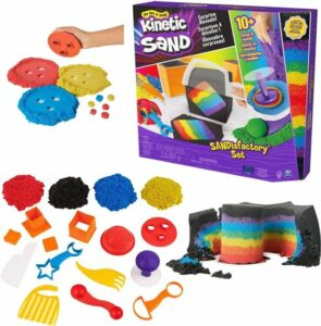 Kinetic Sand Sandisfactory set - 907 gram