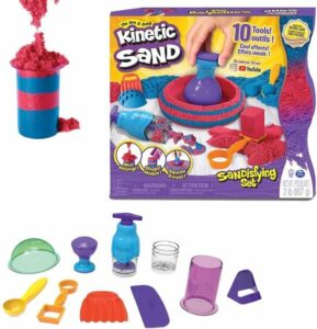 Kinetic Sand - Sandisfying Set - 0,9 kg - Zand