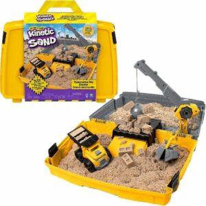 Kinetic Sand - Zandbakspeelset Bouwplaats met voertuig - 907 g