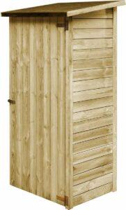 Medina Gereedschapsschuur 88x76x175 cm geïmpregneerd grenenhout