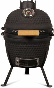 Patton Kamado Grill 13 - Keramisch - Kookoppervlak Ø 28 - Mat zwart