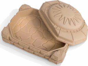 Step2 Zandbak Naturally Playful Sandbox - met Deksel en zitjes - voor 91kg zand